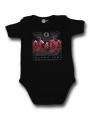 ACDC romper baby Black Ice – Metal romper babytje (Clothing)