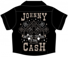 Johnny Cash Baby blouse/button up Guns
