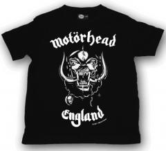 Motörhead Kinder kleding T-shirt England (Clothing)