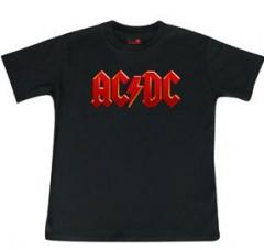 ACDC Kids T-Shirt Logo colour - Metal kinder