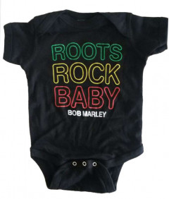 Bob Marley baby romper Roots Rock