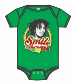 Bob Marley romper baby Smile Jamaica