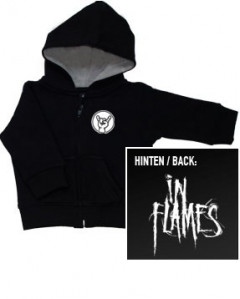 In Flames Logo kids sweater (Print on demand)