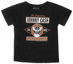 Johnny Cash Baby T-shirt Original Rockabilly