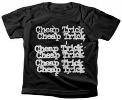 Cheap Trick kinder T-shirt Stacked logo