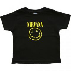 Nirvana kinder t-shirt Smiley