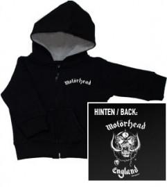 Motorhead England baby sweater/ zip hoodie