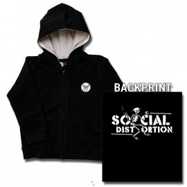 Social Distortion Baby Skelly sweater (Print On Demand)