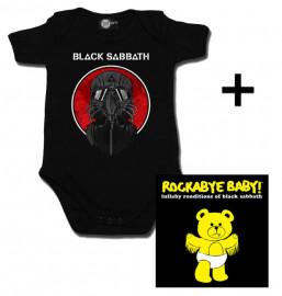 Cadeauset Black Sabbath Baby Romper 2014 & Black Sabbath CD