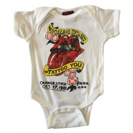 Rolling Stones baby romper Tattoo you (Clothing)