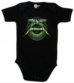 Metallica baby romper Seek and Destroy