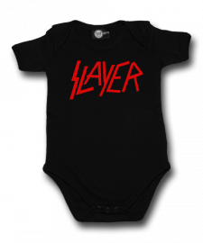 Slayer Baby Romper Logo