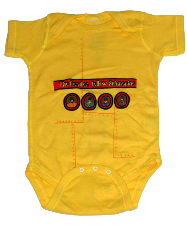 Beatles romper baby Yellow Submarine