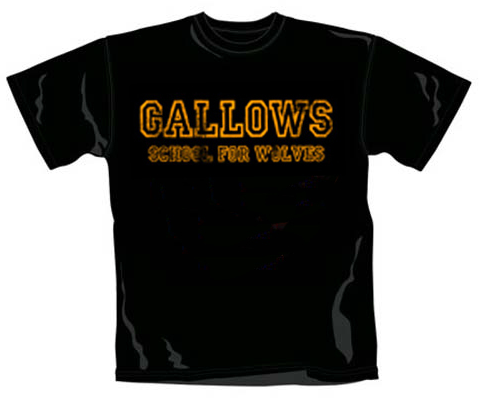 Gallows Kinder T-shirt School For Wolves