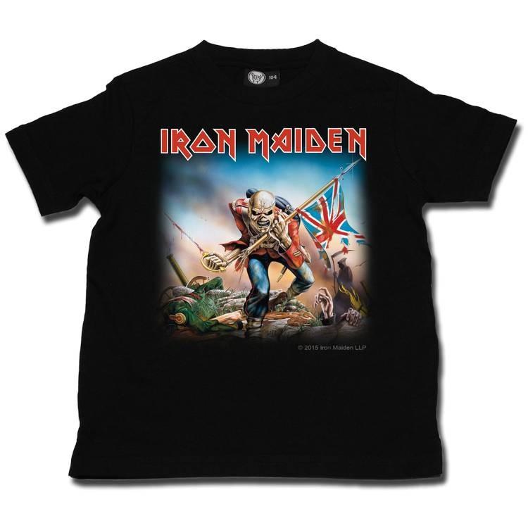 Iron Maiden kinder T-shirt Trooper