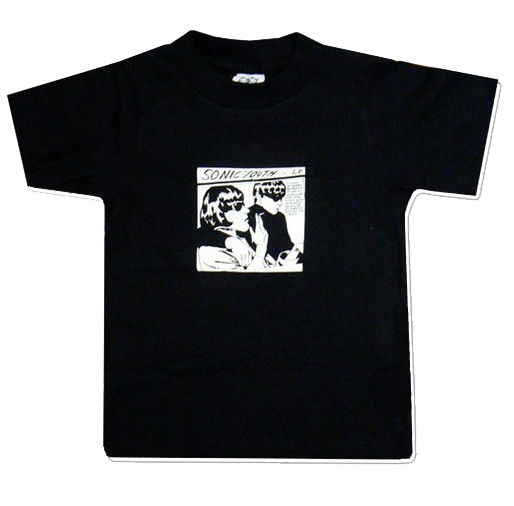 Sonic Youth kinder T-shirt Black Goo (Clothing)