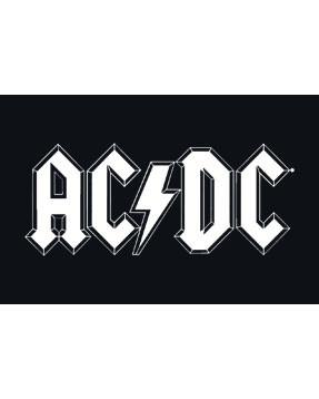 ACDC kinder T-Shirt Logo white – METAL kinder