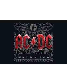 AC/DC Kids Girlie T-shirt Black Ice print