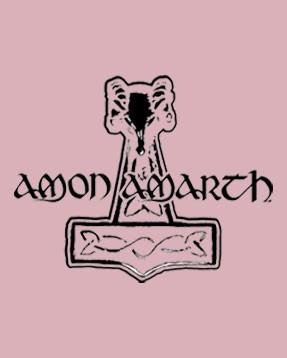 Amon Amarth Romper Logo Pink – metal rompers