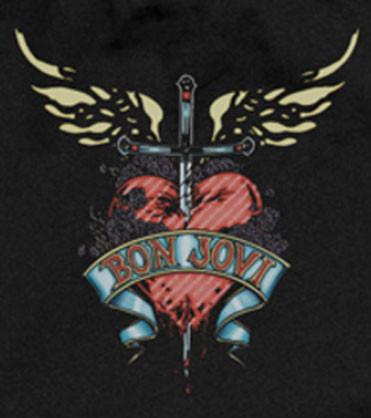 Bon Jovi romper baby Heart baby