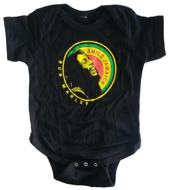 Bob Marley baby romper Jamaica Round