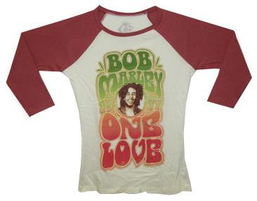"Bob Marley Kids Longsleeve shirt girly ""One Love"""