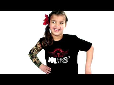 Volbeat Kinder T-shirt Skullwing