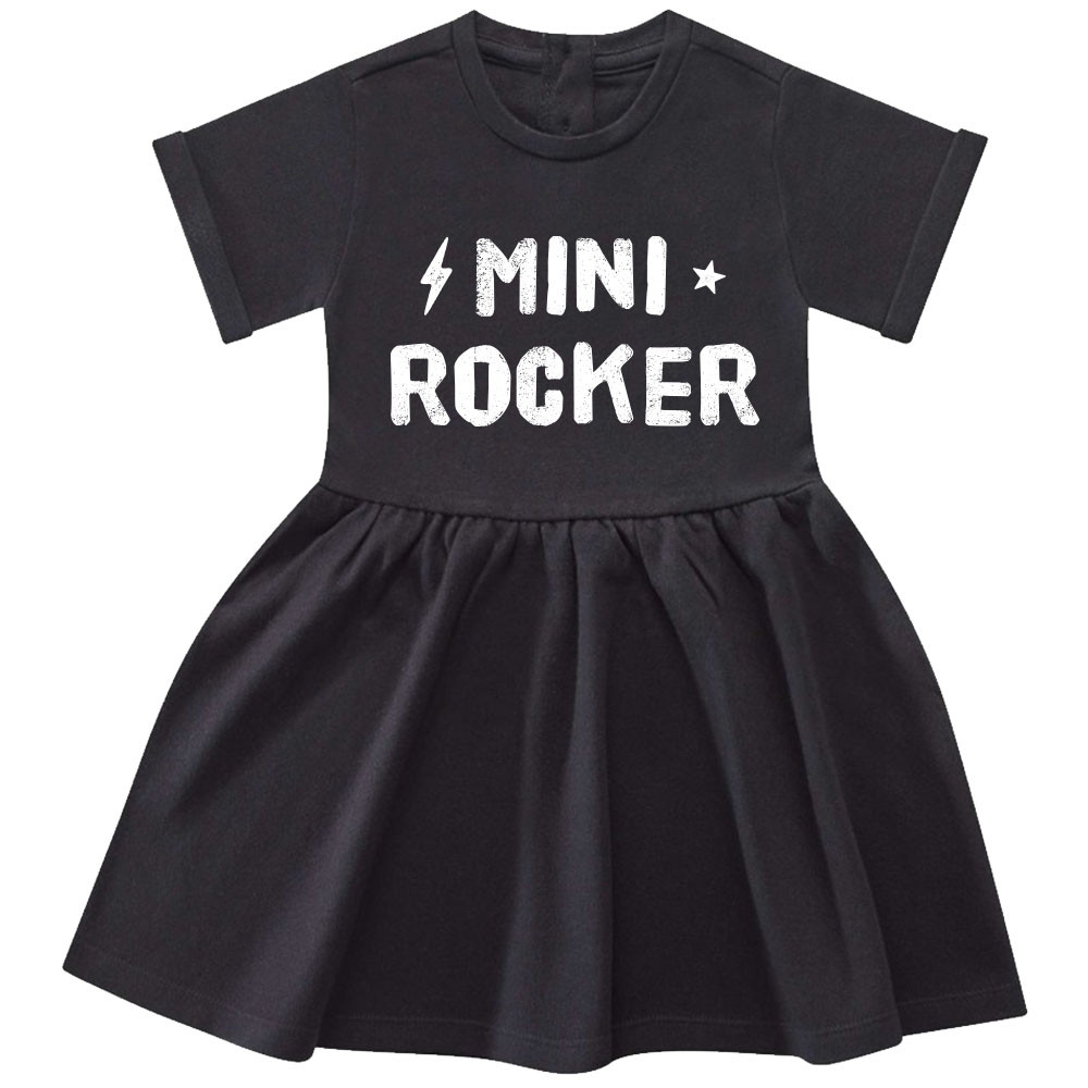 Mini-rocker jurk