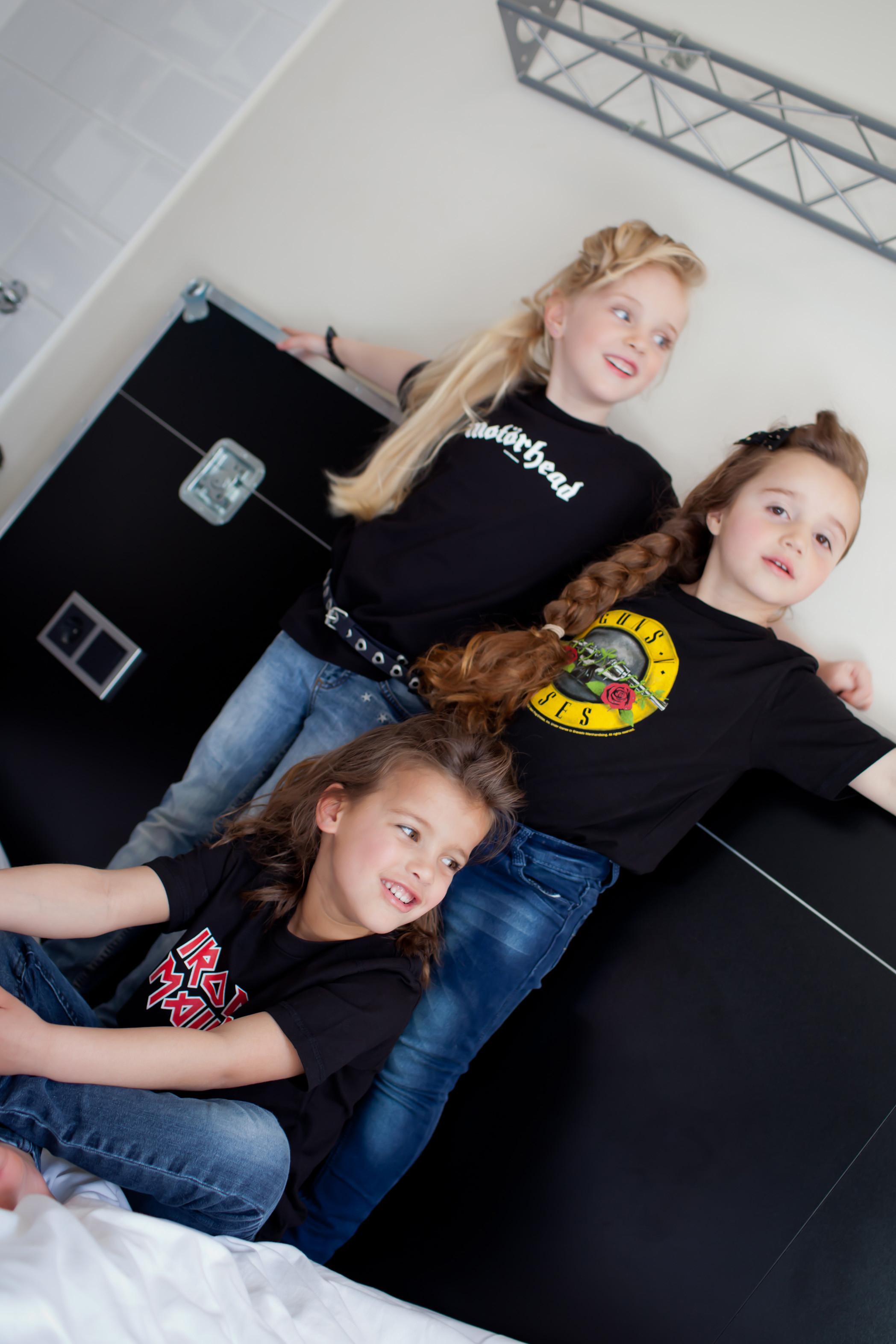 Iron Maiden Kinder T-shirt Logo – Metal kinder