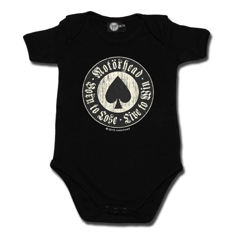 Motörhead Baby Romper - Born to Lose