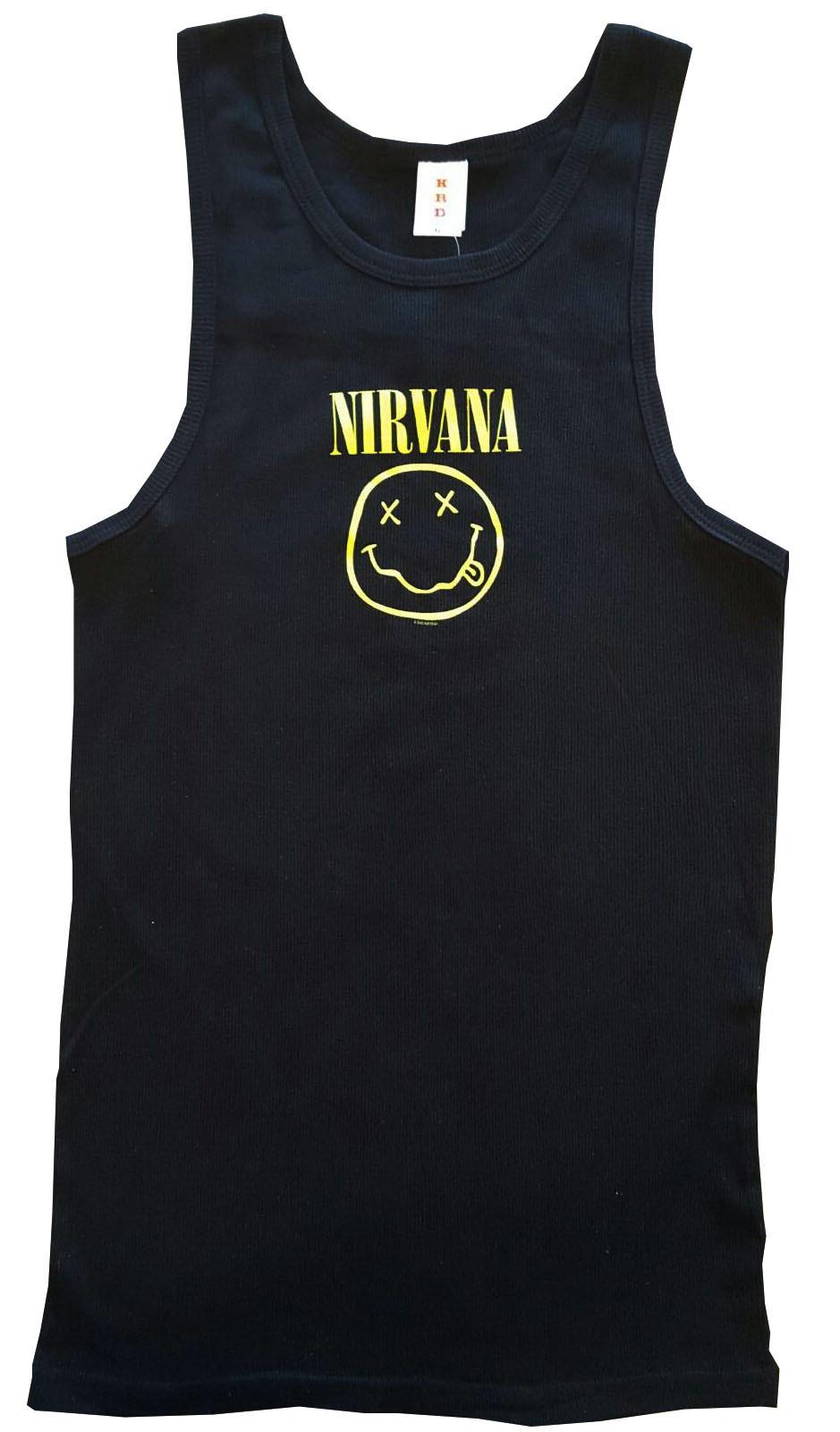 Nirvana kinder rock hemd Smiley