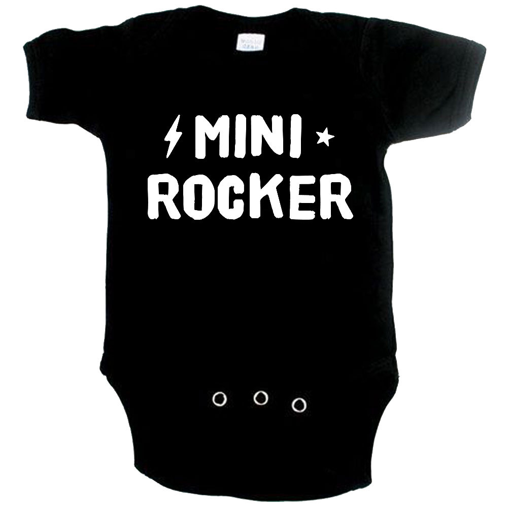 rock baby romper mini rocker