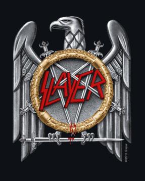 Slayer metal kleding voor kids Silver Eagle