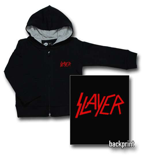 Slayer Baby Logo Red sweater (Print On Demand)