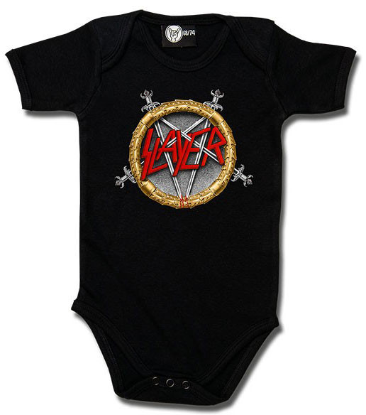 Slayer Rompertje Pentagram baby metal rompertjes