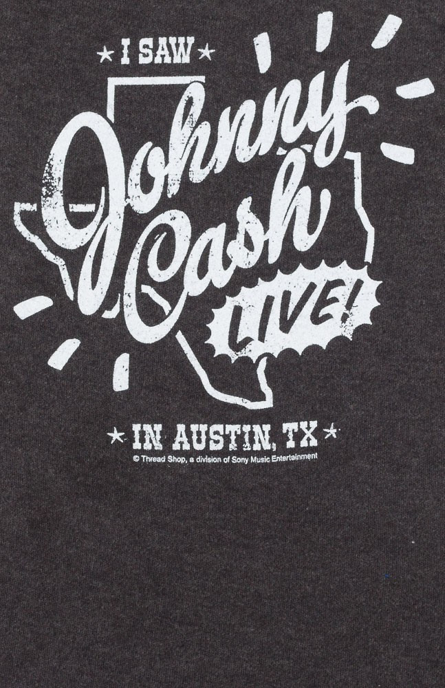 Johnny Cash baby romper Austin