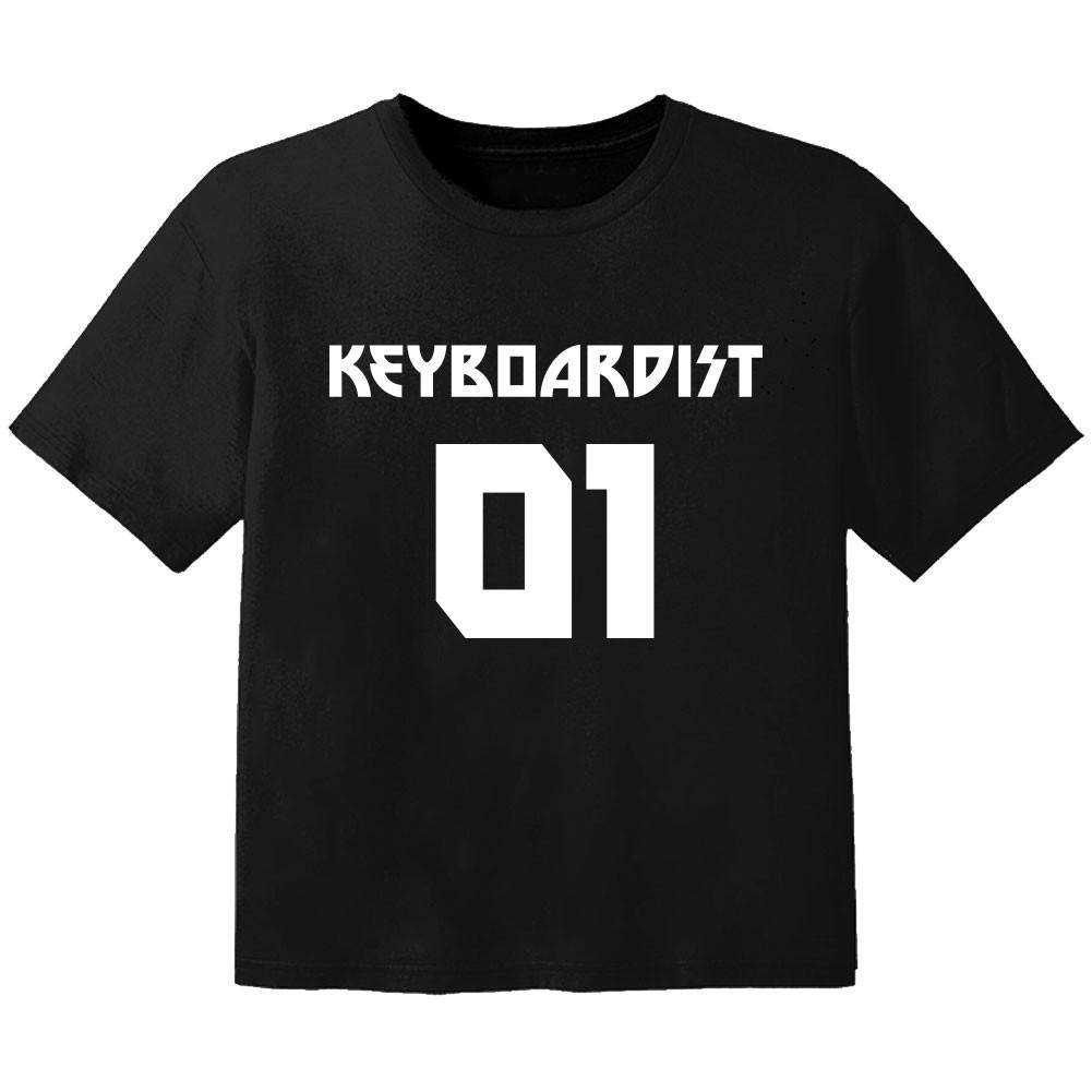rock kinder t-shirt keyboardist 01