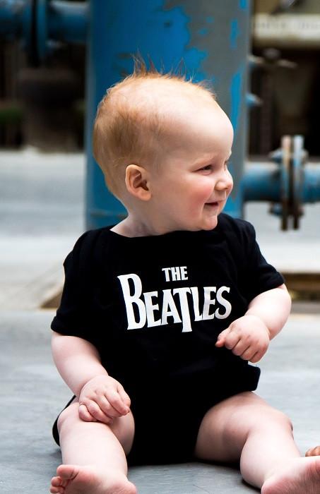 The Beatles romper baby Eternal fotoshoot