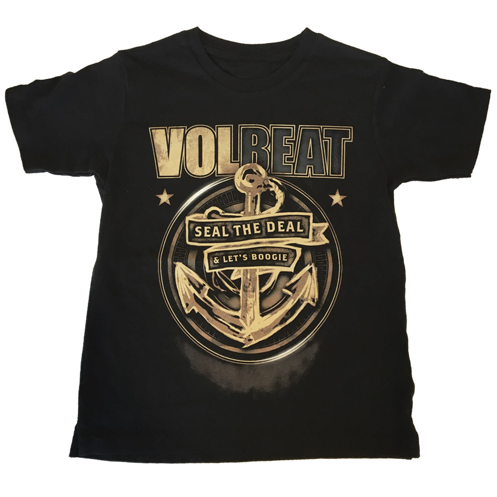 Volbeat Kids T-shirt Seal the deal (Clothing)