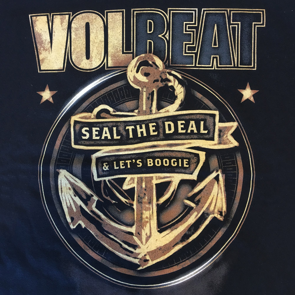 Volbeat Kids T-shirt Seal the deal (Clothing) Closeup