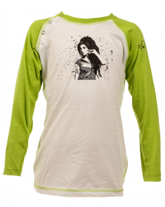 Amy Winehouse kids Baseball Longsleeve
