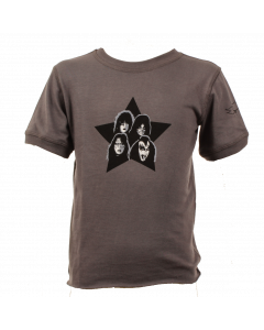 Kiss Baby rock T-shirt Vintage Black