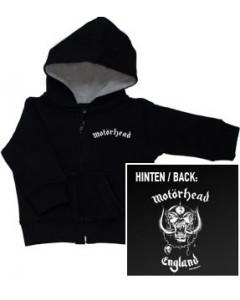 """Motorhead Baby Sweater/zip hoodie """"England"""""""
