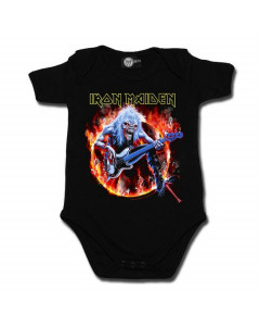 Iron Maiden Baby Romper 'Eddie' | Metal Baby Kids