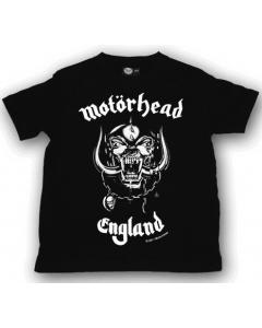 Motörhead Kinder T-shirt England | Littlerockstore