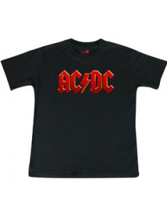 ACDC kinder T-Shirt Logo colour – Metal kinder