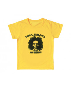 Bob Marley Kids T-shirt Smile Jamaica