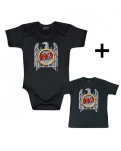 Cadeauset Slayer romper & Slayer Baby t-shirt