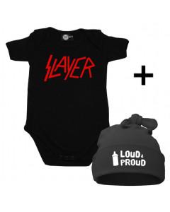 Cadeauset Slayer Baby Romper & Loud & Proud Muts