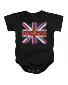 Def Leppard romper baby Lil Union Jack